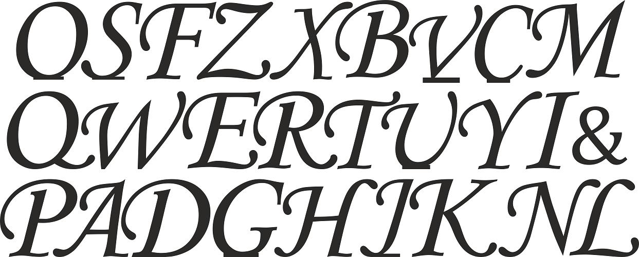 Drewniane Litery 3d Wolnostojące Inicjały Ozdobne Wajdrew