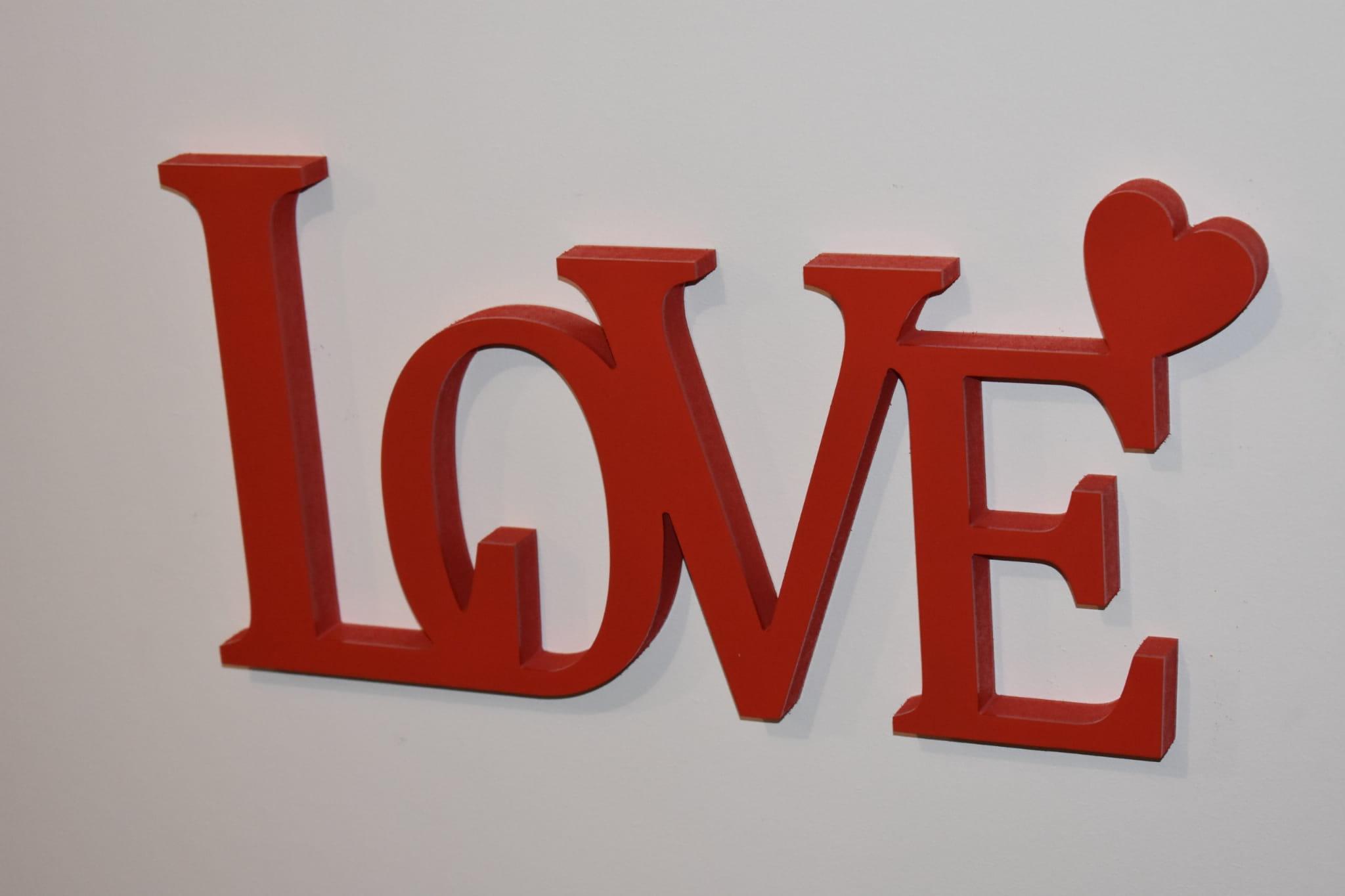 Bardzo dobra Napis 3D LOVE Wajdrew ES65